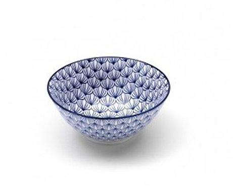 "RB757 Set 6 Bowls Medie In Porcellana ""Rhapsody"""