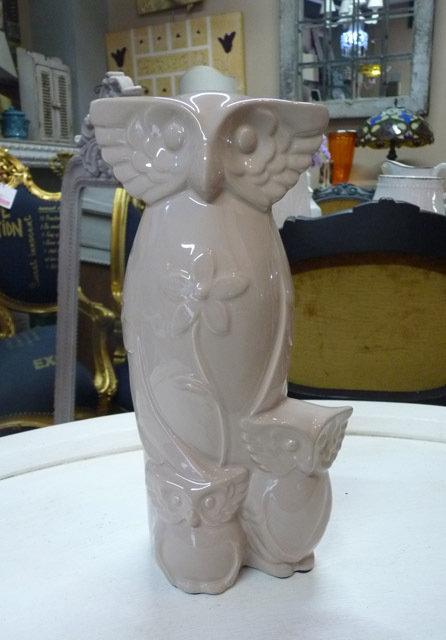 MF17 Gufo In Porcellana Curve