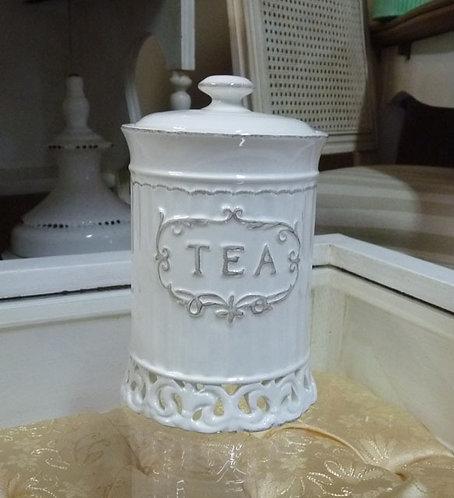 CA06 Contenitore Thè In Ceramica Traforata