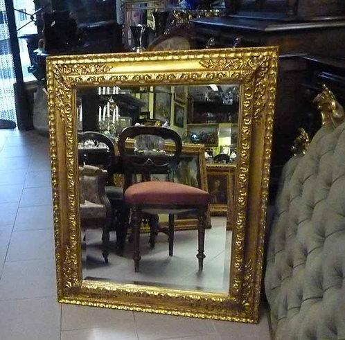 N.05 Specchiera barocca in foglia oro