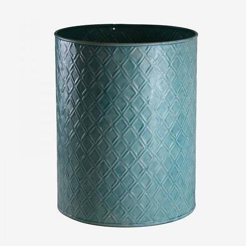 QQ68 Cache Pot In Metallo Colore Carta Da Zucchero