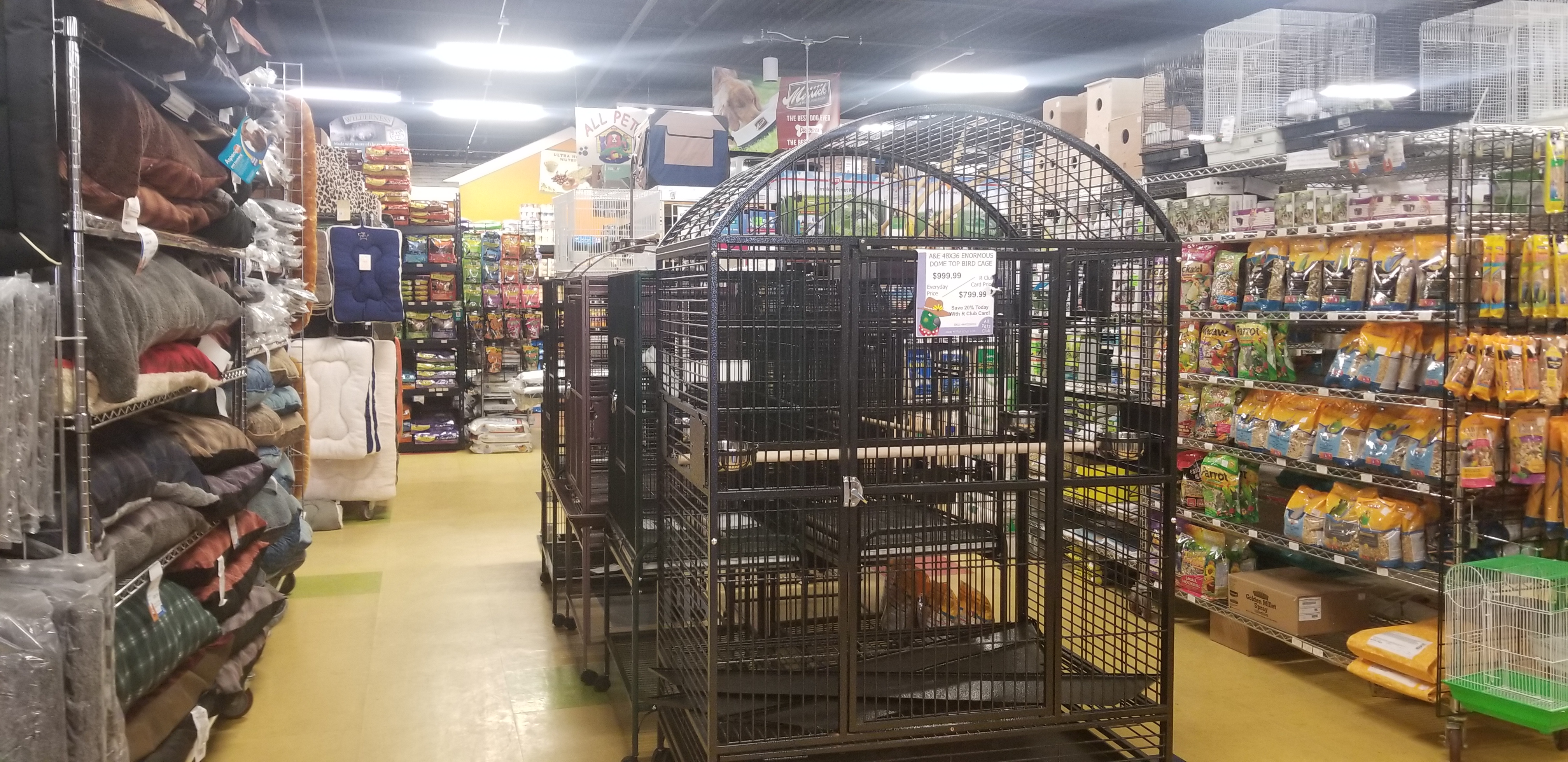 Cages of Every Size