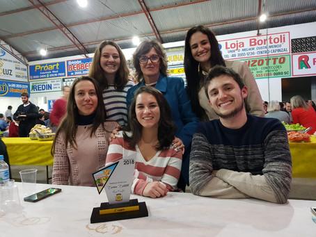 Destaque Econômico ano base 2018 – entrega do troféu dia 13/07/2019