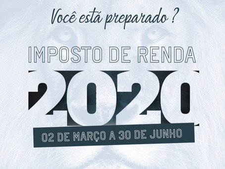 CHECK LIST DE INFORMAÇÕES E DOCUMENTOS URBANO – IMPOSTO DE RENDA 2020