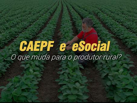 CAEPF  e  eSocial o que muda para o produtor rural?