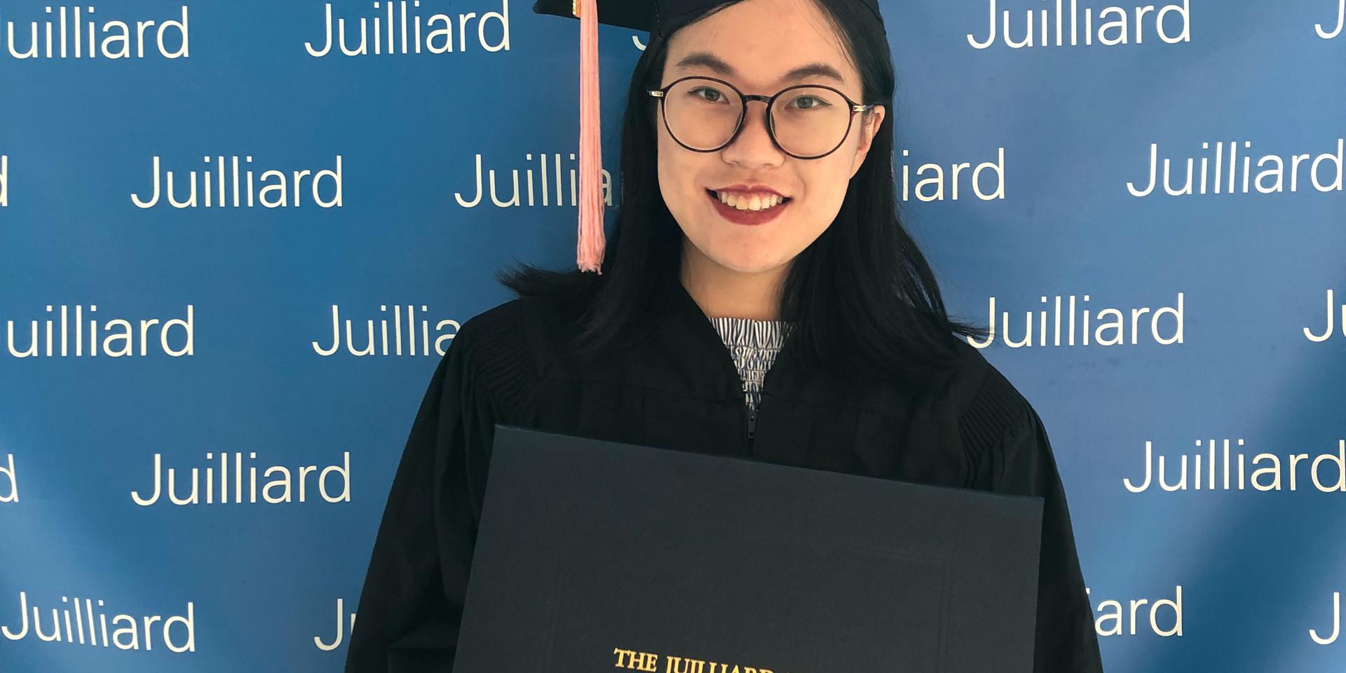 Anran Qian, Graduation