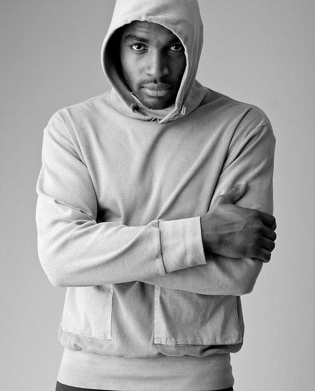 Porfolio photo shoot of male model  Michael Addo in London