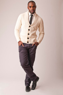clothing portfolio male model