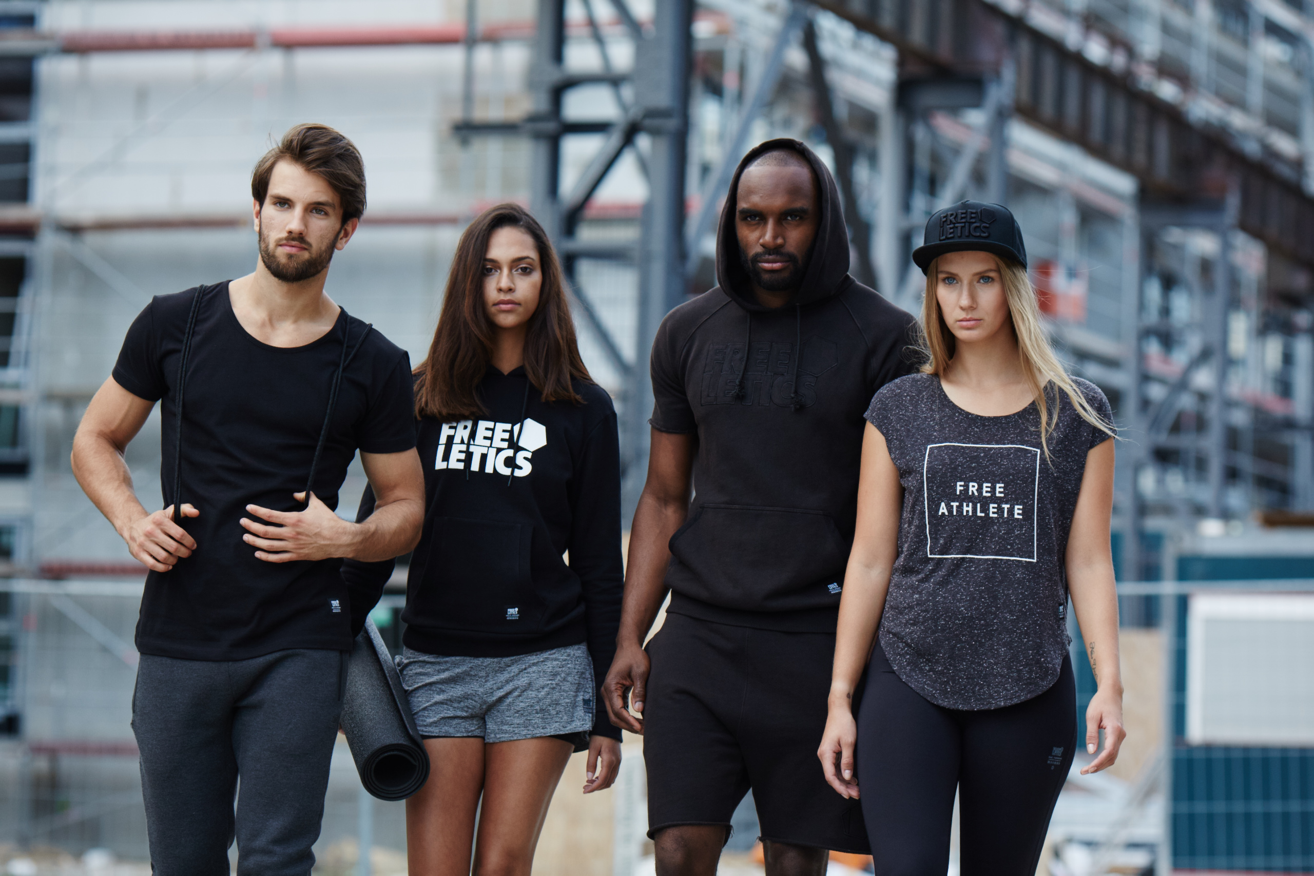 freeletics sports clothing campaign