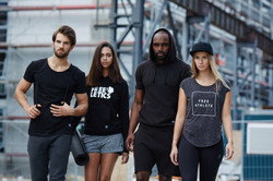 freeletics sports clothing campaign