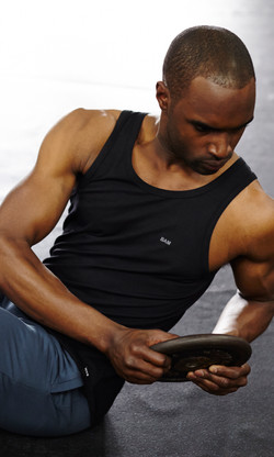 bamboo fitness clothing male model