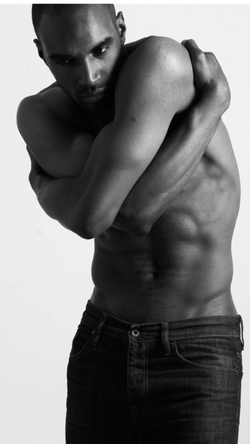 topless male model photoshoot