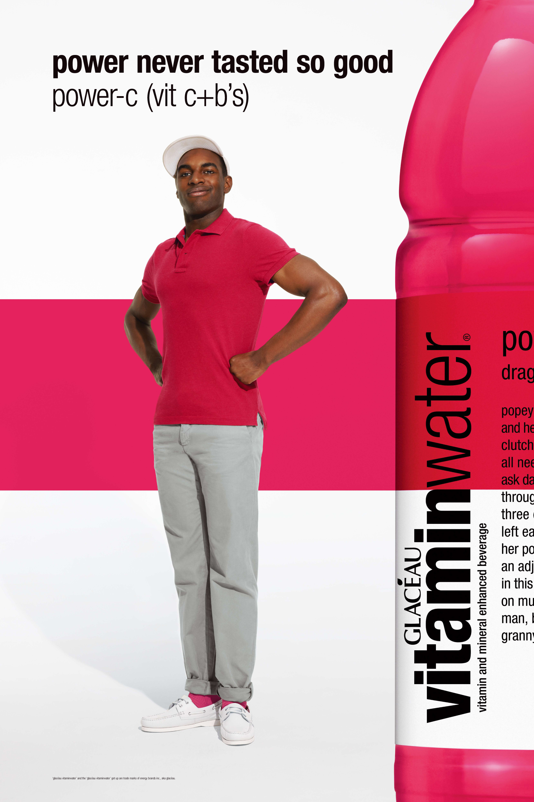 vitamin water male model