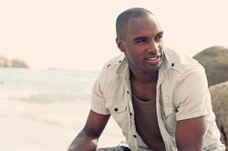 male model beach cape town