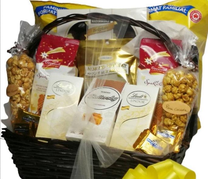 Corporate gift basket