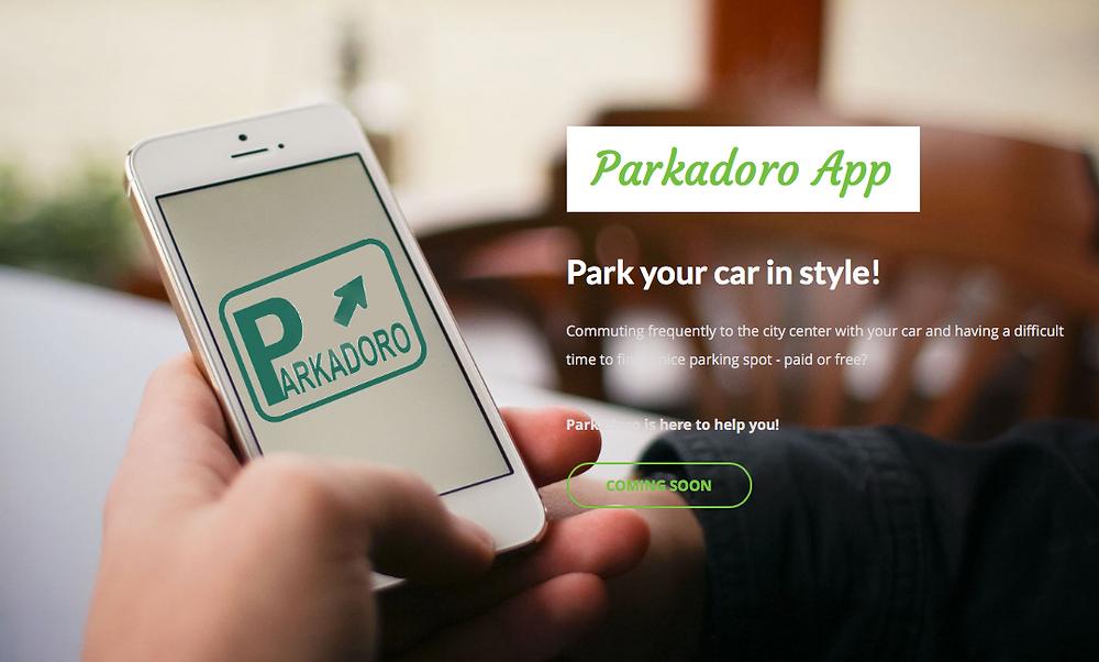 Parkadoro Website