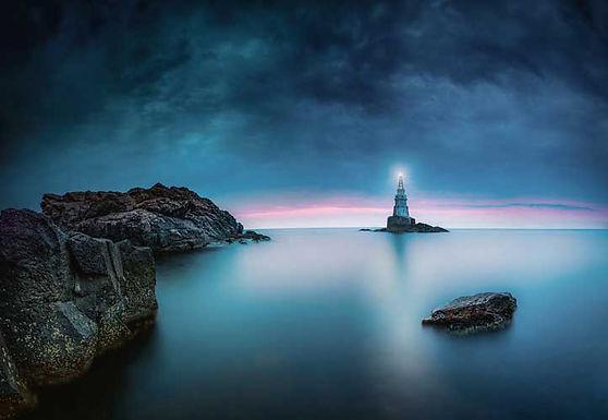 5308-4P-1 Sunrise at Black Sea Coast