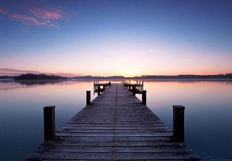 953 Pier of Sunrise
