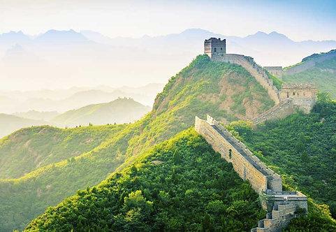 5292-4P-1 Wall of China at Jinshanlinge