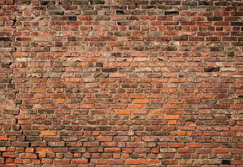 5195-4P-1 Brick Wall Red