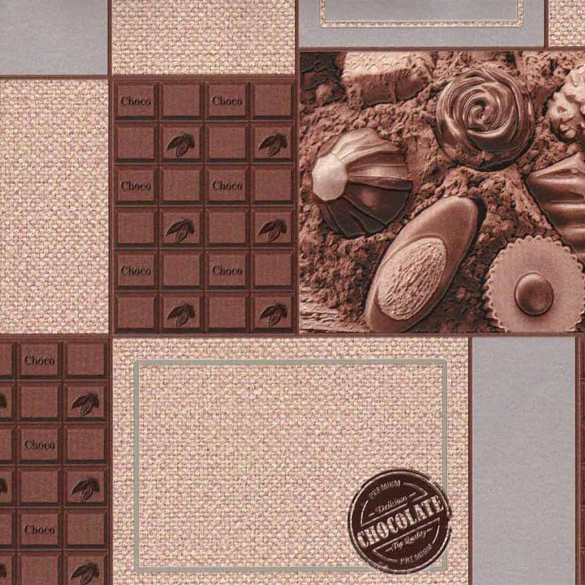 Тапет шоколадный