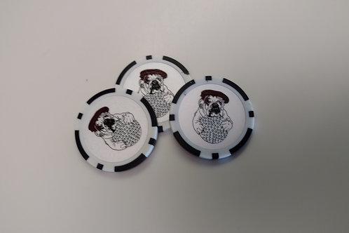 Olde Beau - Poker Chip