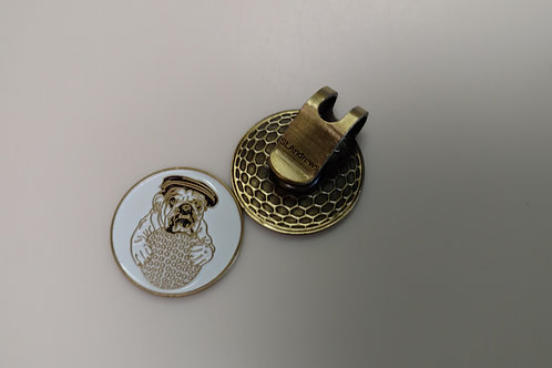 Olde Beau - Hat Clip with Ball Marker