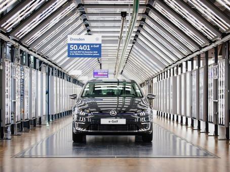 電動 e-Golf 生產終結   明年初改為 VW ID.3 生產線