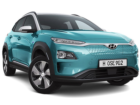 Hyundai 電動車 Kona electric 登場!