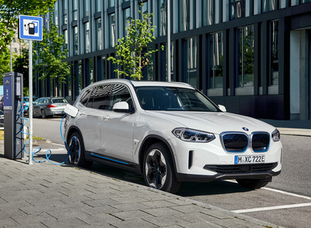 BMW iX3 純電動車 續航力 460 公里 + 第五代 eDrive