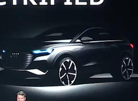 Audi 將推出一款小型電動 SUV 與 Tesla Model Y 競爭