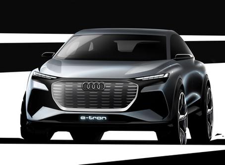 Audi Q4 e-tron 概念電動車