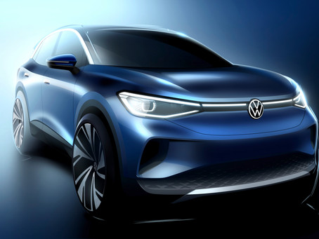 Volkswagen ID.4 全新電動 SUV   500公里續航力