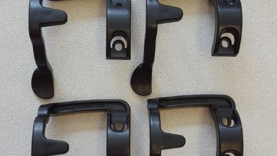 4 Matte Black HornTrigger Sets