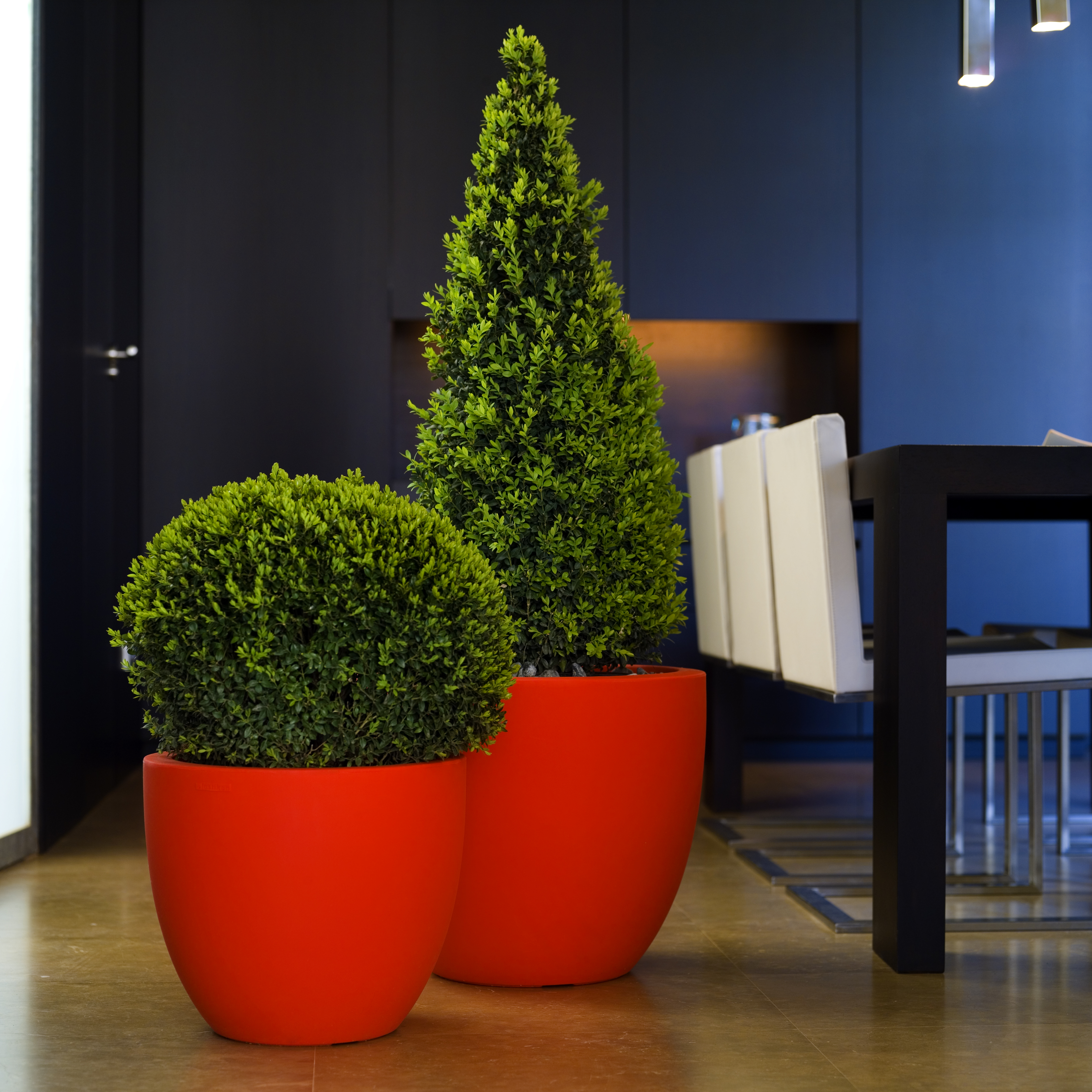 Red Planters