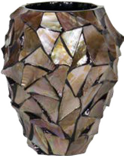 Bronze Mosaic Planter