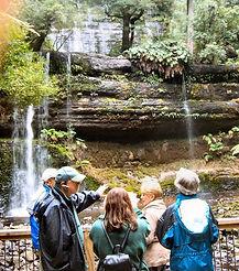 Heart Tasmania tour group