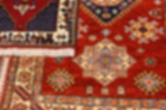 Sivas style rug in a carpet showroom in