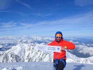 Pablo Zelaya Huerta, a tucumano who breathes extreme mountaineering.