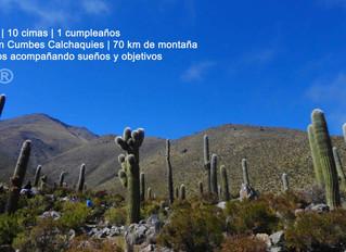 Cumbres Calchaquies Traverse 70km 10 summits + 4500m 3 days.