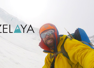 A mountaineer from Tucuman, about to reach the top of Everest.