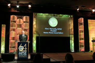 Tom C McCarthy - President of Motion Picture Sound Editors MPSE