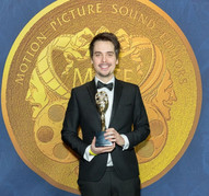 Zoltan Juhasz at the 64th Golden Reel Awards