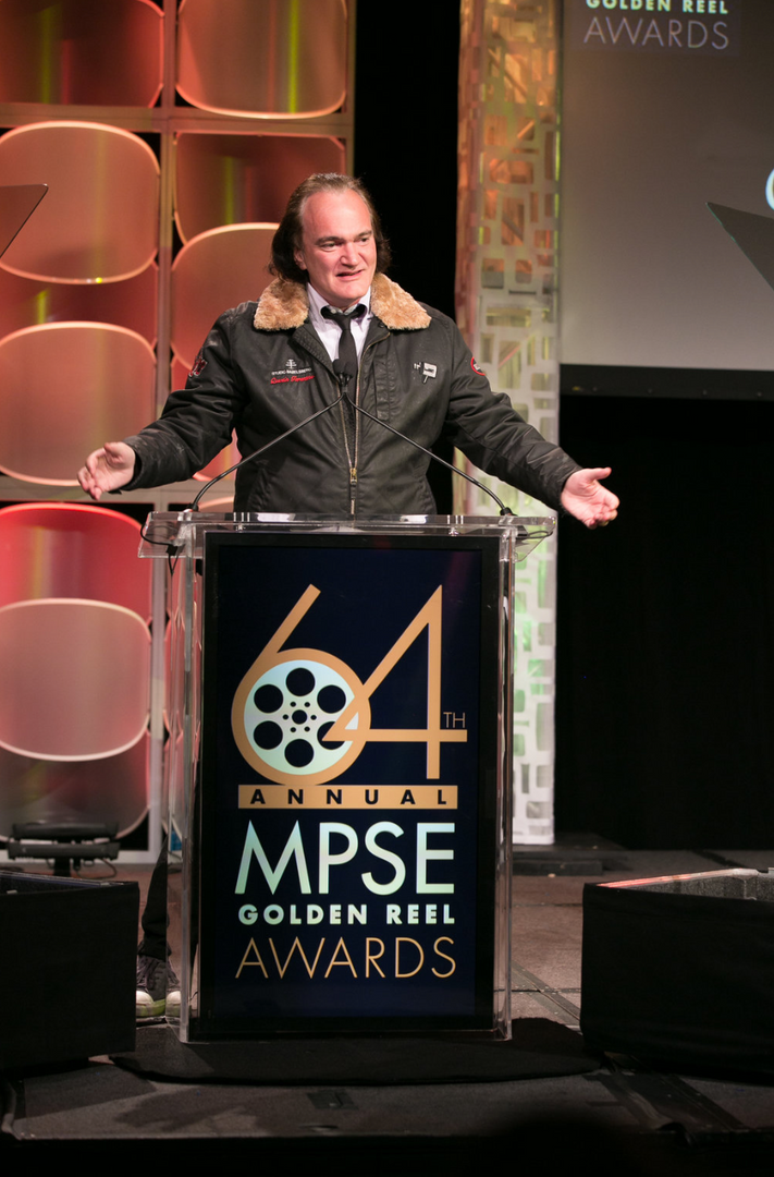 Quentin Tarantino's speech at the event