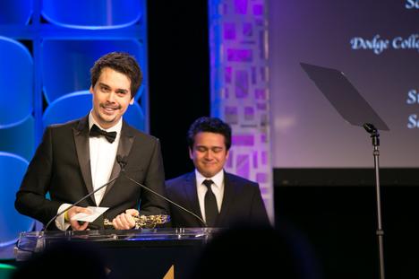 Zoltan's acceptance speech at the 64th Golden Reel Awards