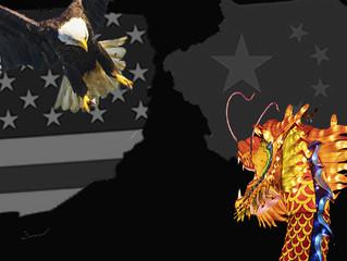 O day after do pouso forçado da águia americana e do dragão chinês