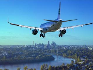 A decolagem nos preços das passagens aéreas