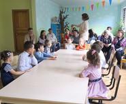 Вчера у дошкольников Академии была линей