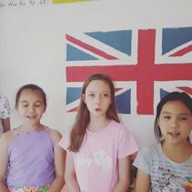 У нас дети не боятся говорить или петь п