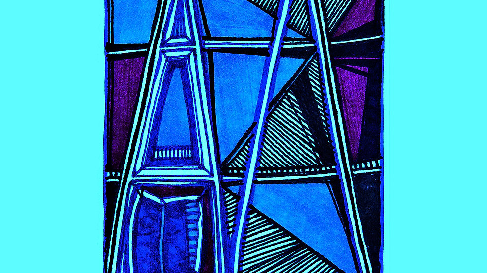 The Blue Window #787